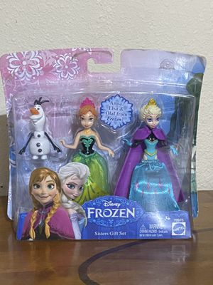 "DISNEY FROZEN SISTER 4"" GIFT SET for Sale in Hondo, TX"