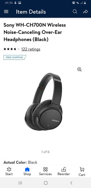 Sony wireless headphone for Sale in Fresno, CA