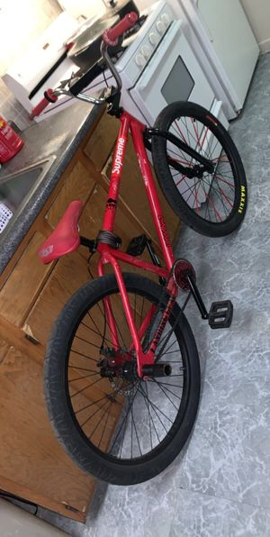 Red bike with se parts for Sale in Reading, PA