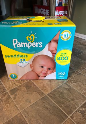 192 Pampers Swaddlers size 1 for Sale in Detroit, MI