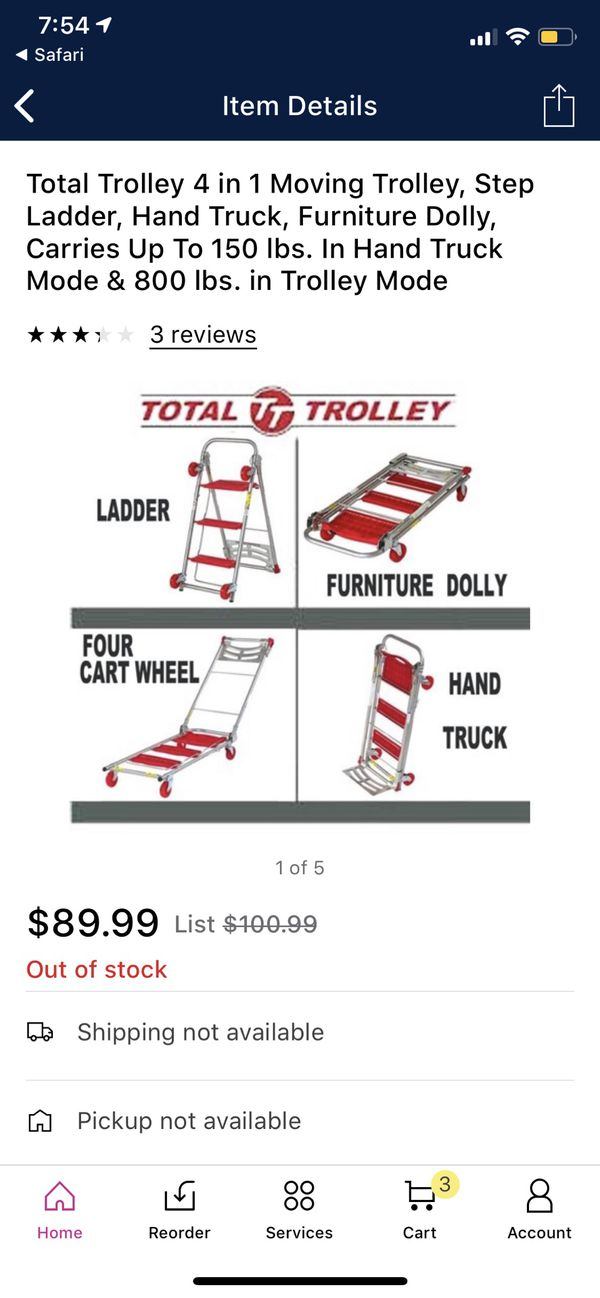 Total Trolley Ladder, Cart, Dolly