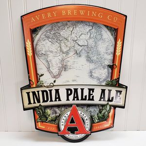 """Avery Brewing Company India Pale Ale Boulder Colorado Tin Sign 18""""x13"""" Man Cave for Sale in Roseville, CA"""