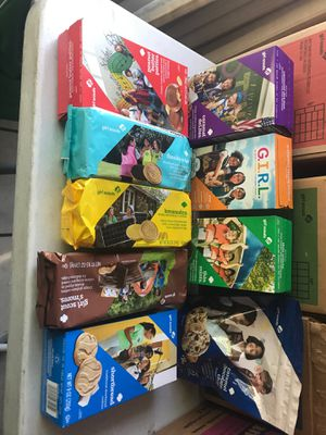 Girl scout cookies for Sale in Santa Ana, CA