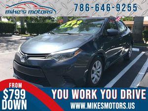 2015 Toyota Corolla L for Sale in Miami, FL