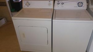 Whirlpool washer and electric dryer for Sale in Austin, TX