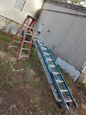 ladders 20ft 16ft and 6ft for Sale in Austin, TX