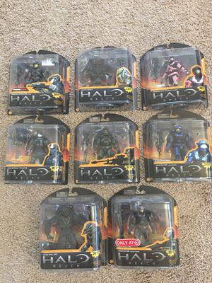 Halo Reach Series 3 Collection. NIB. Exclusives and Rares included for Sale in Chandler, AZ