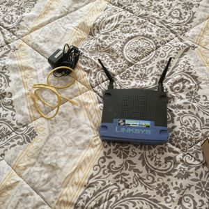 Wifi Router - Linksys Wireless-G 2.4 GHz WRT54GS for Sale in Monrovia, CA