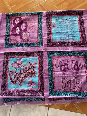 Fabric Cheetah girls, 100% cotton for Sale in Norco, CA