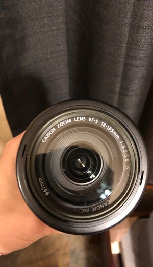 Canon EF-S Lens | 18-135mm | 3.5-5.6 for Sale in Garland, TX
