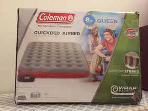 Coleman gieen air mattress for Sale in Philadelphia, PA