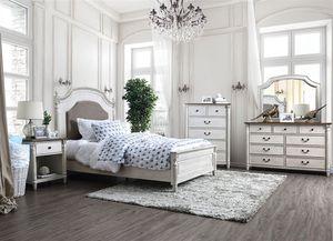 4-Pc Antique Solid Wood Queen Bedroom Set for Sale in Fresno, CA