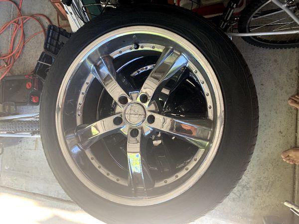 R20 wheels