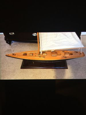"Hand made wooden sailboat ""BEST OFFER"" for Sale in Clinton, MD"