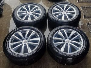 """2014 2015 2016 2017 INFINITI Q50 17"""" INCH OEM WHEELS RIMS WITH TIRES (SET OF 4) 5x114.3 for Sale in Fort Lauderdale, FL"""