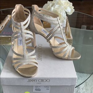 Jimmy choo silver gold for Sale in Lansdowne, VA