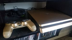 Playstation 4 Slim 1TB (Gold) for Sale in Pittsboro, IN