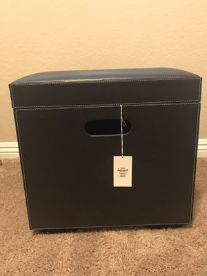 Brown Container Store storage bin for Sale in Mission Viejo, CA