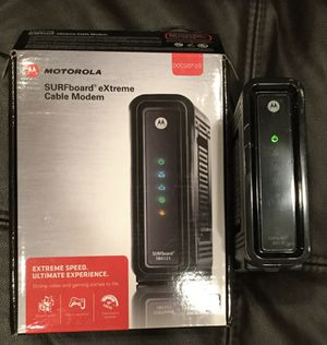 Cable Modem for Xfinity Surfboard SB-6121 Motorola for Sale in Chicago, IL