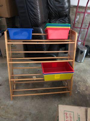 Kids toy shelf organizer for Sale in Belmont, CA