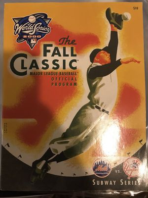 Subway Series Official Program for Sale in West Palm Beach, FL