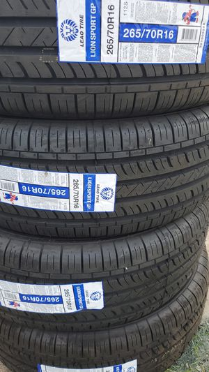 265 70 16 New Tires for Sale in Tucson, AZ