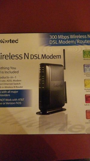 Wireless N DSL Modem/Router 300 Mbps for Sale in Janesville, WI