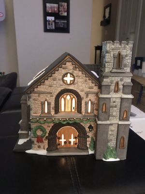 """Dickens Village Series """"Whittlesbourne Church"""" for Sale in Snohomish, WA"""
