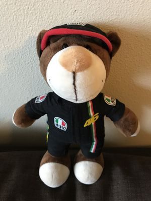 NEW Teddy Bear stuffed animal plush toy friend wears racing suite race car driver costume clothes for Sale in Seattle, WA