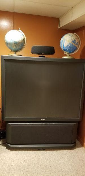 "Sony 50"" Rear Projection TV Works for Sale in Traverse City, MI"