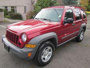2005 Jeep Liberty for Sale in Shoreline, WA