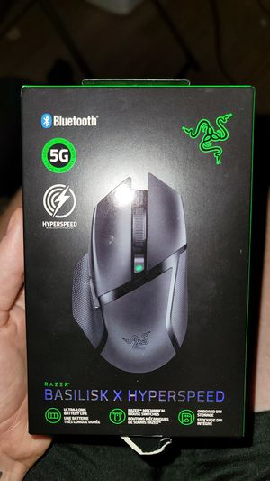 Razer basilisk x hyperspeed mouse (BRAND NEW) for Sale in Irwindale, CA