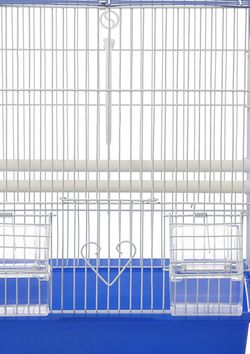 Cage for Birds Blue and White for Sale in Las Vegas,  NV