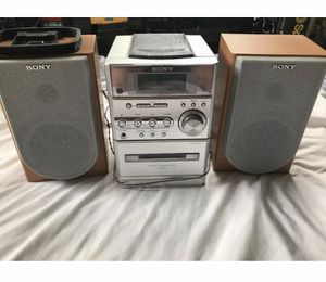 Sony Hi-Fi Stereo System Like New for Sale in Darien, CT