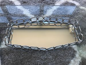 Small mirrored tray for Sale in Washington, DC