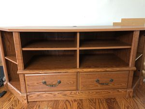 TV Stand and storage for Sale in Holmes, PA
