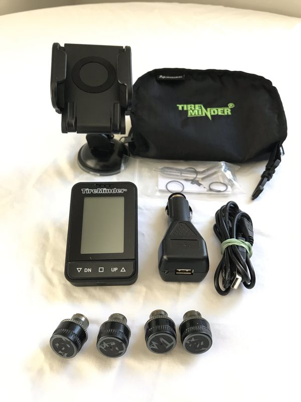 TireMinder Tire Pressure Monitoring System For RV or Trailer