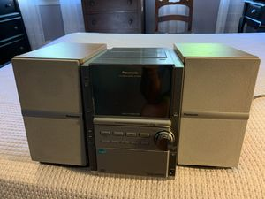 Panasonic stereo system for Sale in Watertown, CT
