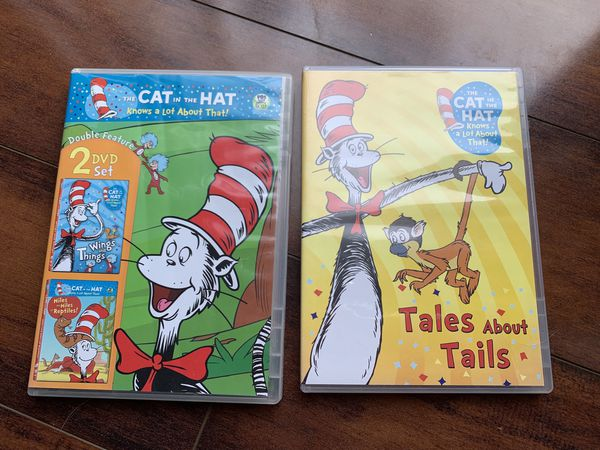 DVDs The cat in the the hat (3 DVDS)
