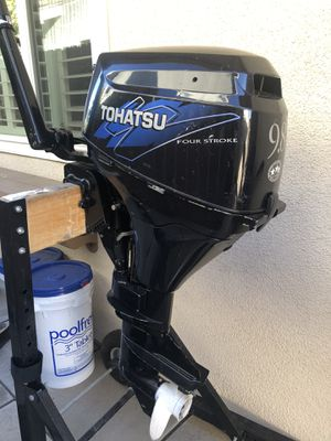 Tohatsu 9.8hp outboard motor for Sale in Santa Ana, CA