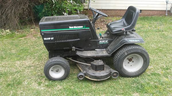 Yard Machine 20 5 Hp Gt For Sale In High Point Nc Offerup