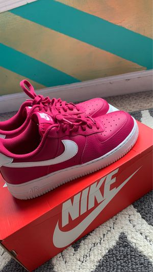Size 8.5 Woman's Hot Pink Air Force 1's (Worn Twice) for Sale in Conyers, GA