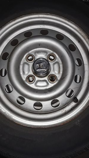 Honda Civic Stock Steel Rims w/ 175/ 70/13 4 lug 100x100 for Sale in Suitland-Silver Hill, MD
