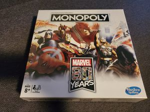 Marvel Monopoly 80 years new for Sale in Bell Gardens, CA