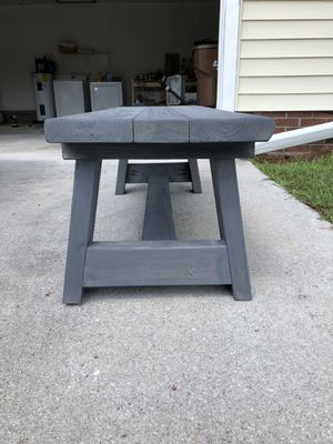 Custom Made Pieces- Pick Your Color! Benches Tables Shelves and more! for Sale in Jacksonville, NC
