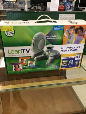 Leapfrog leap tv educational gaming system in box for Sale in Clinton, MS