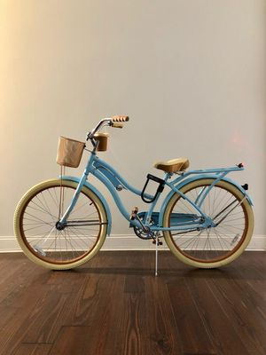 "Huffy 24"" Nel Lusso Girls' Cruiser Bike with Perfect Fit Frame, Baby Blue for Sale in Brooklyn, NY"