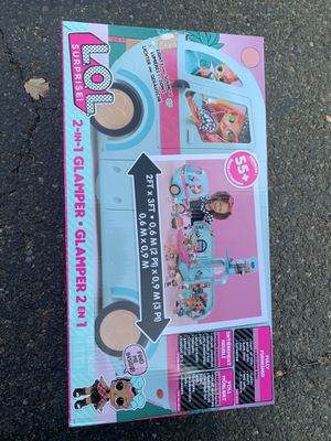Lol surprise 2 in 1 glamper 55+ for Sale in Rancho Cordova, CA