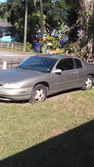 1998 Chevy Monte Carlo Z34 - runs needs work and tires. 122,536 miles for Sale in Tampa, FL