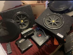COMPLETE SOUND SISTEM 4 SINGLE CAB PICK UP for Sale in Stockton, CA